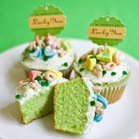 Lucky Charms Cupcakes St. Patrick's Day ? My Own Ideas