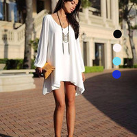 Casual Split Sleeve Dress