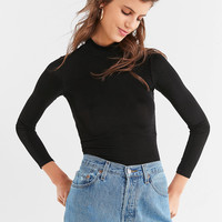 UO Blossom Bodycon Turtleneck Top | Urban Outfitters