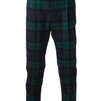 Dsquared2 Tartan Tapered Trouser