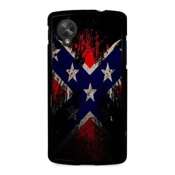 BROWNING REBEL FLAG Nexus 5 Case Cover