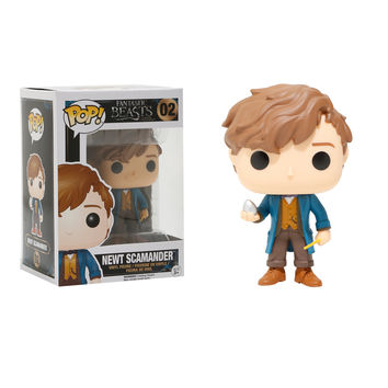 Funko Fantastic Beasts And Where To Find Them Pop! Newt Scamander Vinyl Figure