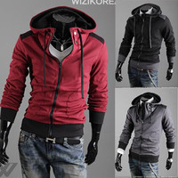 Casual Upgraded Men Slim Fit Hoodie