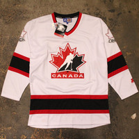 Team Canada Olympic Hockey Starter Jersey White (Large)