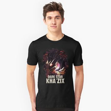"""League of Legends DARK STAR KHA`ZIX"" Unisex T-Shirt by Naumovski 