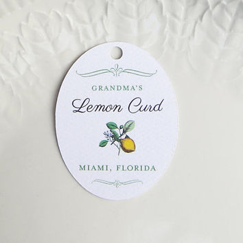Limoncello Tag, Wedding Favor Tag, Lemon Product Label, Personalized Gift Tag, Custom Limoncello Favour Label, Yellow Wedding - Set of 20