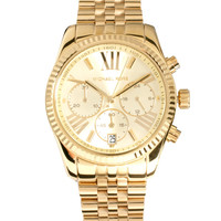 Michael Kors Bevelled Chronograph Watch