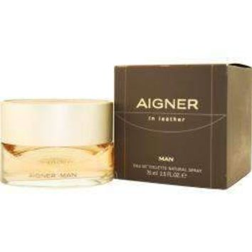 Aigner In Leather By Etienne Aigner Edt Spray 2.5 Oz