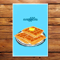 Waffles Poster