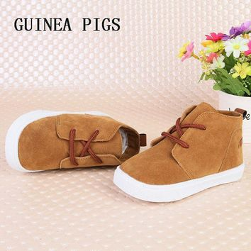 Boys Suede Toddler Casual Shoes