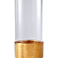 L'Objet - Alchimie 24K Gold-Trimmed Glass Hurricane Lantern - Saks Fifth Avenue Mobile