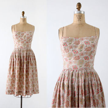 vintage 50s dress by Greta Platry