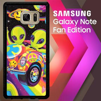 Lisa Frank X5604 Samsung Galaxy Note FE Fan Edition Case