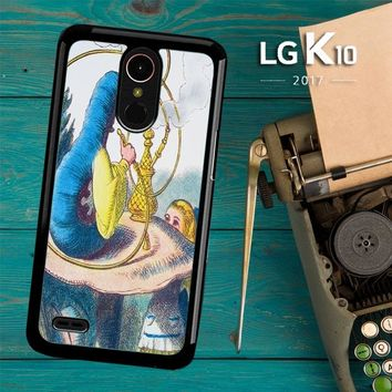 Alice In Wonderland Hookah Caterpillar V1381 LG K10 2017 / LG K20 Plus / LG Harmony Case