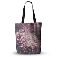 "Jillian Audrey ""Lilacs"" Pink Floral Everything Tote Bag"