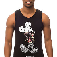 The Mickey Swag Tank in Black Heather