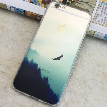Pine Forest Scenery iPhone 6 6S Plus se 5S & iPhone 7 7Plus Case + Nice Gift Box -125-170928