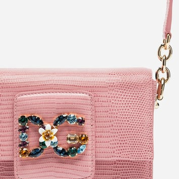 Mini Bags and Clutches | Dolce&Gabbana - DG MILLENNIALS BAG IN LEATHER