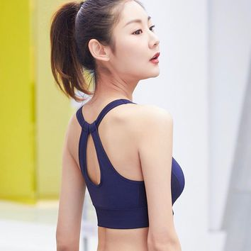 Sexy Cut Out Detailing Sports Bra