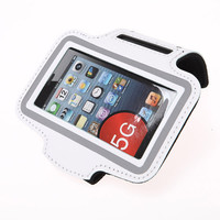 Mobile Phone Holders in PU Leather Armband for Sports Gym Running Cover for iPhone 5 5S 5G