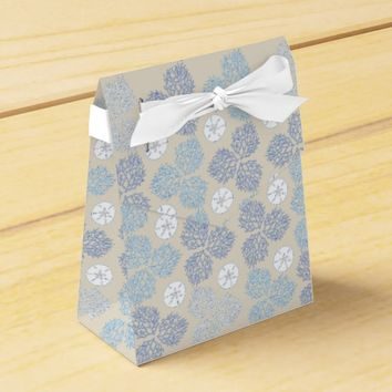 Coral Reef and sand dollar beach theme Favor Box