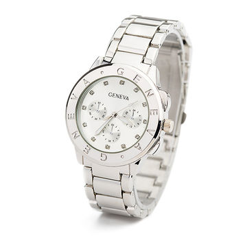 Designer's Stylish Alloy Ladies Fashion Watch = 4815463044