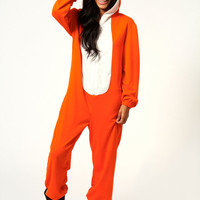 Lauryn Fox Design Zip Front Hooded Animal Onesuit