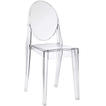 Casper Dining Side Chair Clear EEI-122-CLR