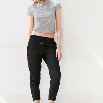 Silence + Noise Dane Track Pant - Black - Urban Outfitters