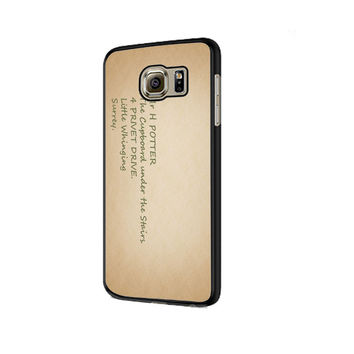 Harry Potter Address Samsung Galaxy S6 | S6 Edge Cover Cases