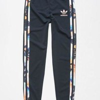 LMFIW1 ADIDAS Floral Girls Leggings | Leggings