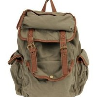 Ecote Canvas & Leather Backpack