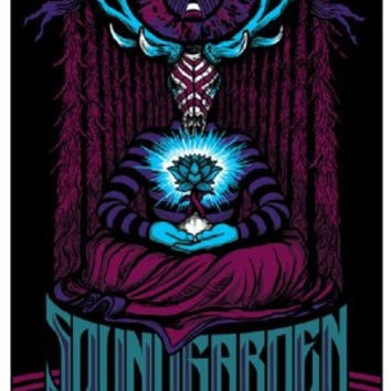 Soundgarden @ Chicago, 2010 - Poster/Print with Black Card Frame and Mount (31CM BY 19CM)