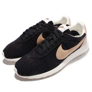 size 40 2b729 66d27 Nike Roshe Ld-1000 Black Vachetta Tan Men Running Shoes Sneakers 844266-001