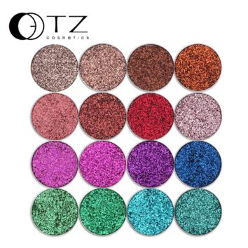Glitterinjections Pressed Glitters Single Eyeshadow Diamond Rainbow Make Up Cosmetic Pressed Glitters Eye shadow Magnet Palette
