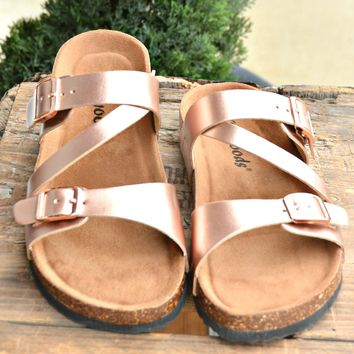It's Your Day Sandal - Rose Gold