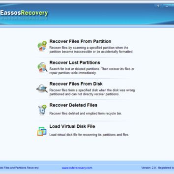 Eassos Recovery 4.0.1.258 Crack, License Key