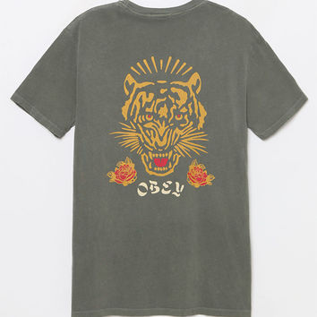 OBEY Kiss Me Deadly Washed T-Shirt at PacSun.com