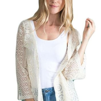 Thrill Of The Lace Jacket