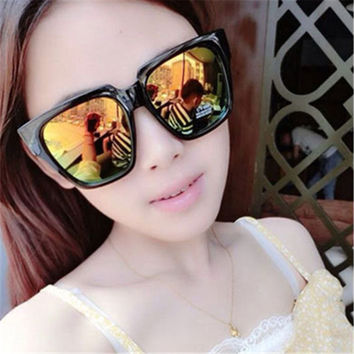 60mm Oversized Big Frame Mirrored Sunglasses Women Men Brand Sun Glasses Cat Eye Female Male Dragon Women's Men's Glasses
