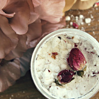 EXOTIC ROSE . Luxury Bath Soak. Vegan Rose Coconut Milk Bath for All Skin Types. Spa & Relaxation Gift // Exotic Rose