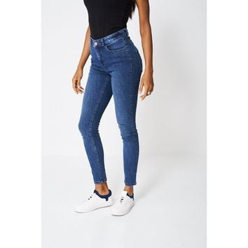 Blue Super Skinny Jeans Ex-branded