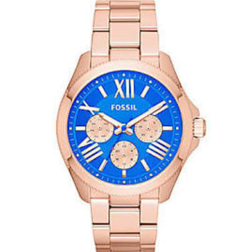 Fossil Cecile Ladies Chronograph Quartz Watch AM4556