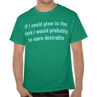 glow in the dark shirt from Zazzle.com