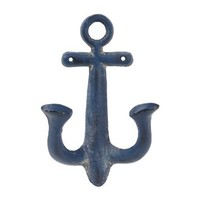 Navy Anchor Wall Hook