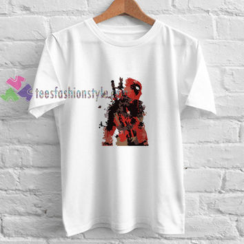 Deadpool Abatrack t shirt gift tees unisex adult cool tee shirts buy cheap
