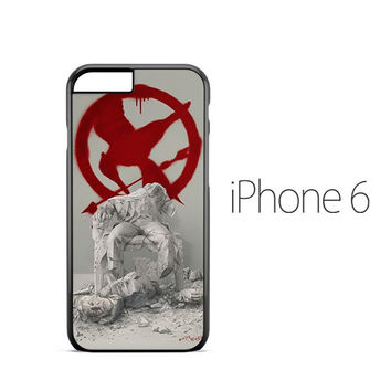 Hunger Games Mockingjay Logo iPhone 6 Case