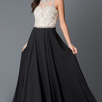 Dresses, Formal, Prom Dresses, Evening Wear: Long Illusion Sweetheart Dress JVN33758 from JVN by Jovani