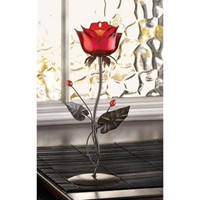 Romantic Rose Votive Candle Holder
