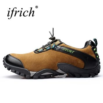 Leather Hiking Shoes